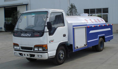 water jetting truck