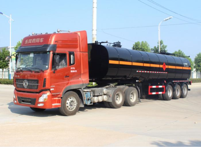 40,000 liters 3 axle coal tar oil tank semi-trailer