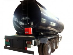 3 axles bitumen tanker trailer