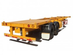 40ft 2 axles container trailer skeleton chassis