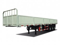 China supplier 40ft tri-axle side wall cargo trailer